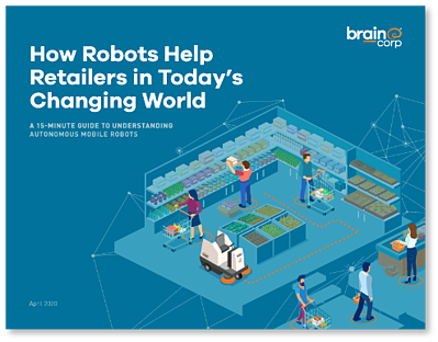How Robots are Helping Retailers in Todays Changing World